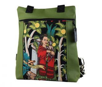 Bolso-Mochila Karratu Txiki Verde Frida